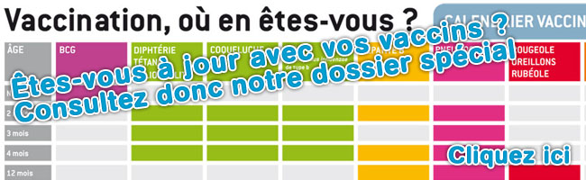 ACCEDER AU CALENDRIER VACCINAL